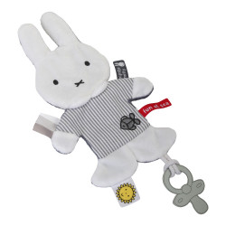 Doudou Miffy - Marinière gris rayé