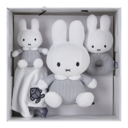 Miffy Rattle striped jersey