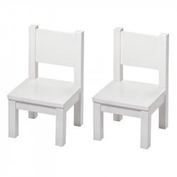 Ensemble de table et chaise bébé gris
