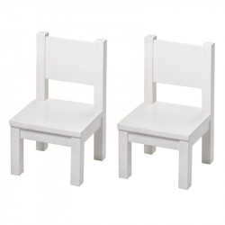 Bundle First Table + 2 Chairs - Blue