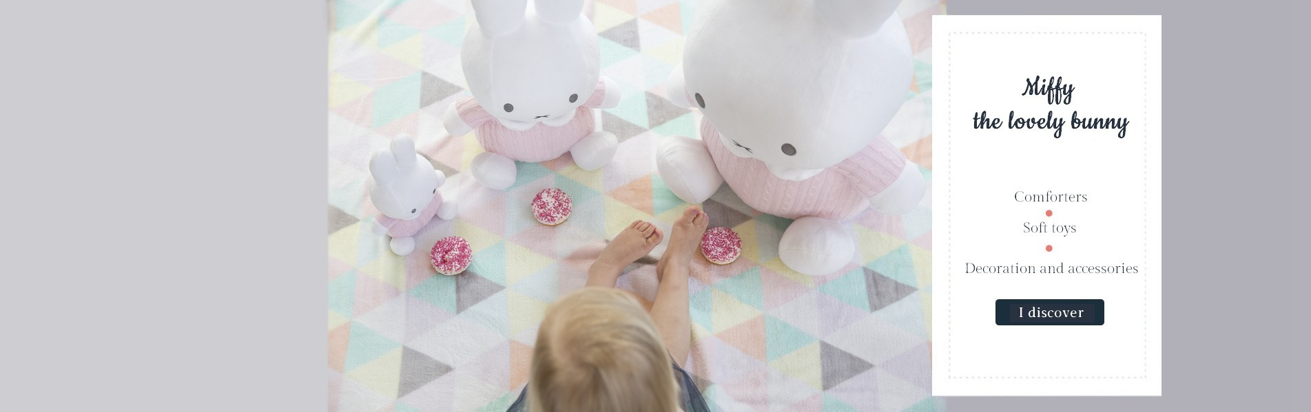 Miffy - soft toys and decoration