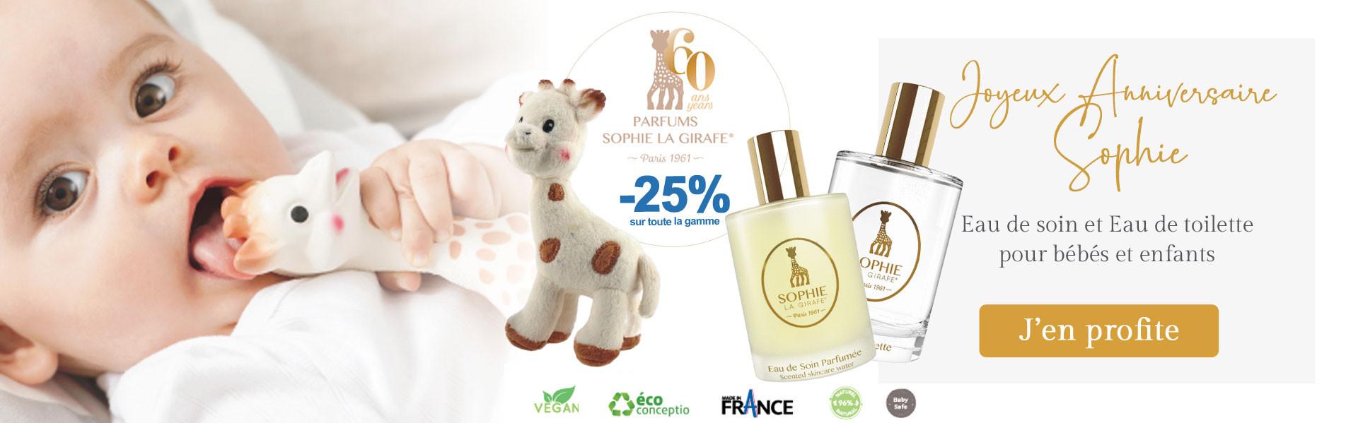 Parfums Sophie the girafe