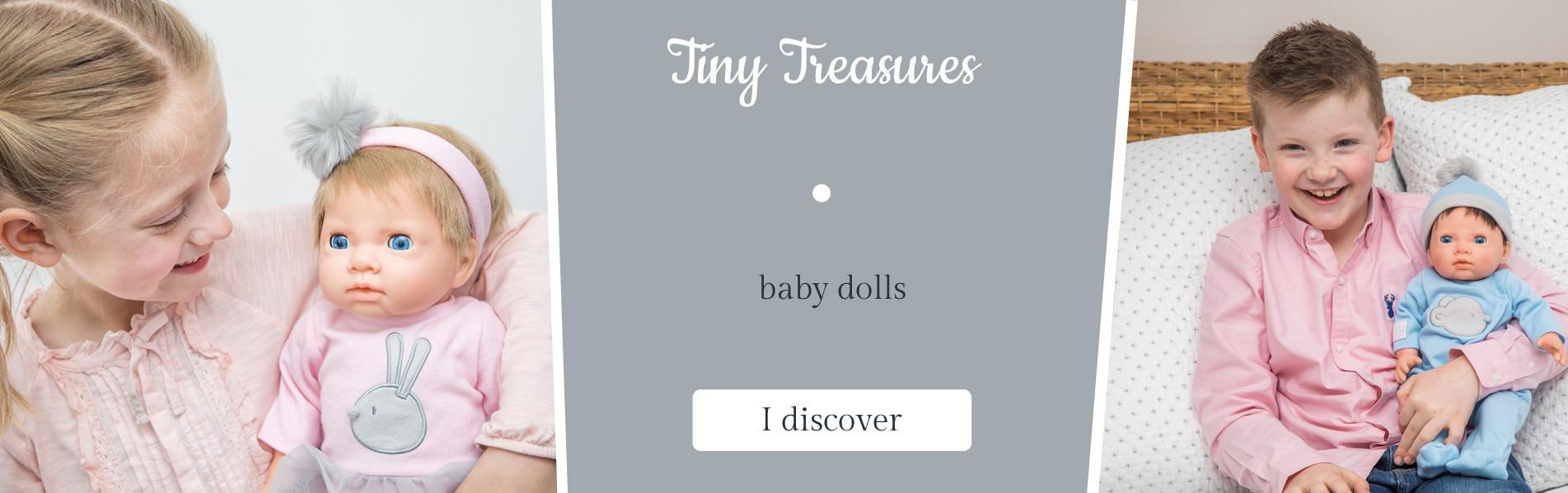 Baby dolls Tiny Treasures