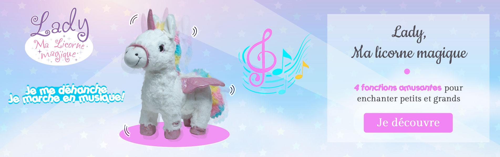 Lady unicorn magic