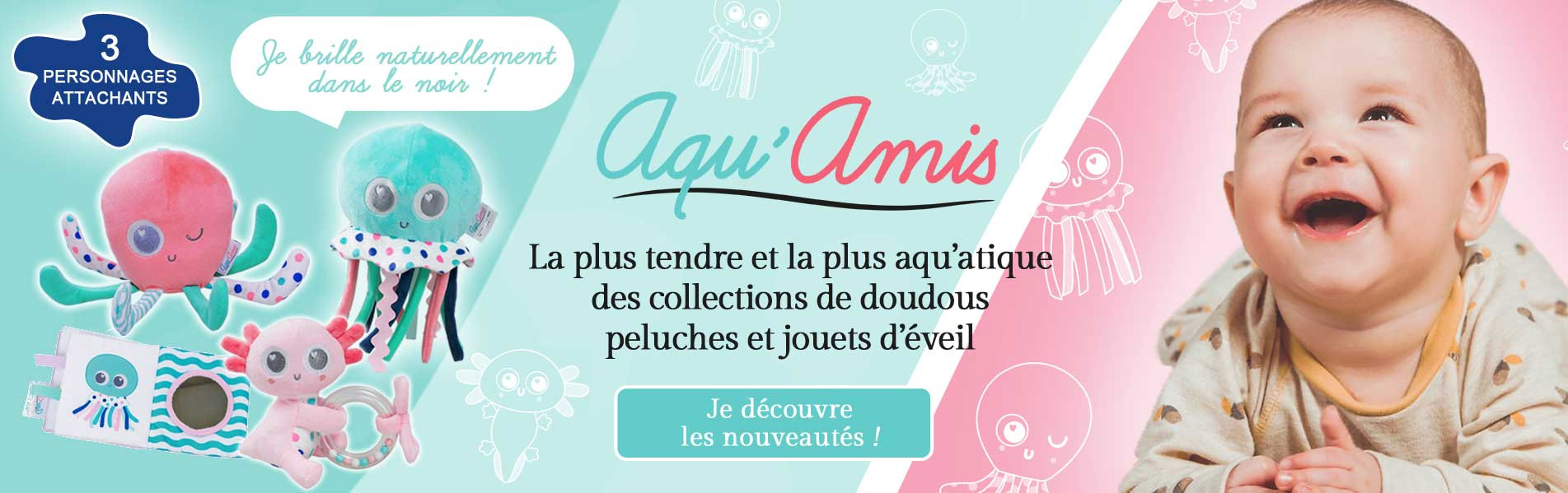 Discover the new collection : Aqu'amis !
