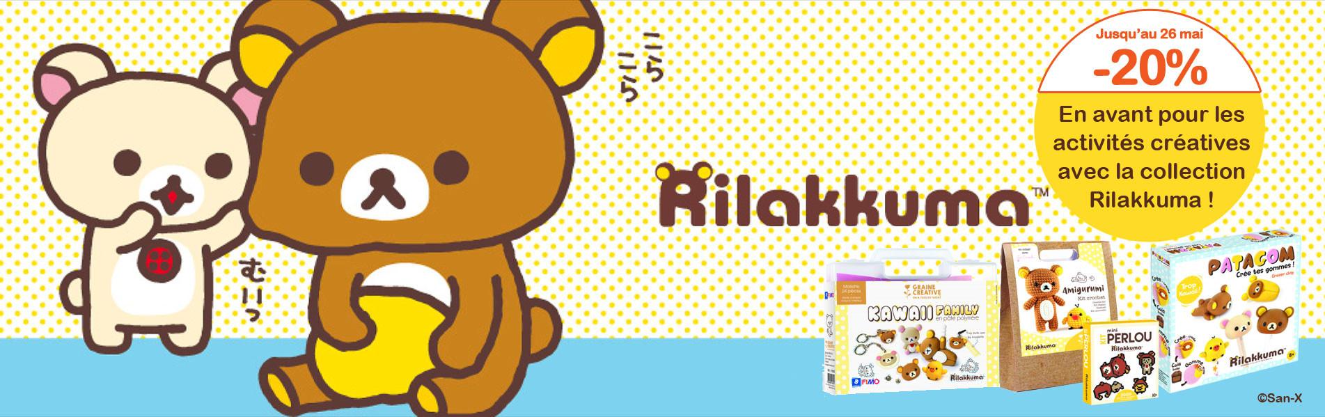 Coffret créatif Rilakkuma