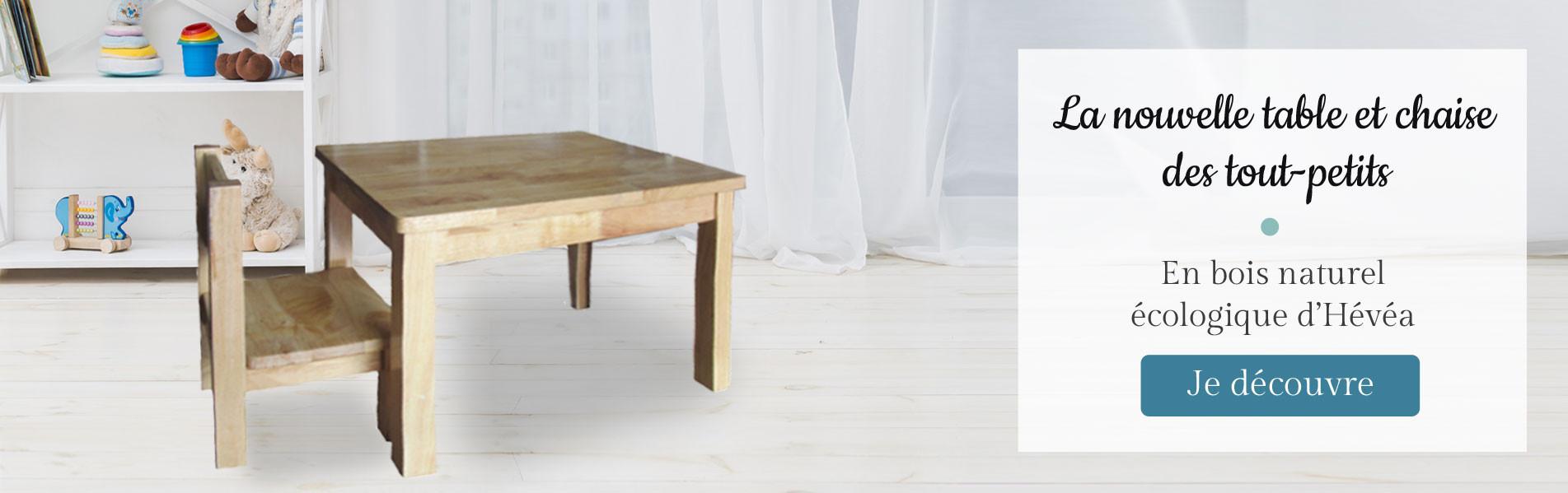 Découvrez notre nouveau mobilier bois