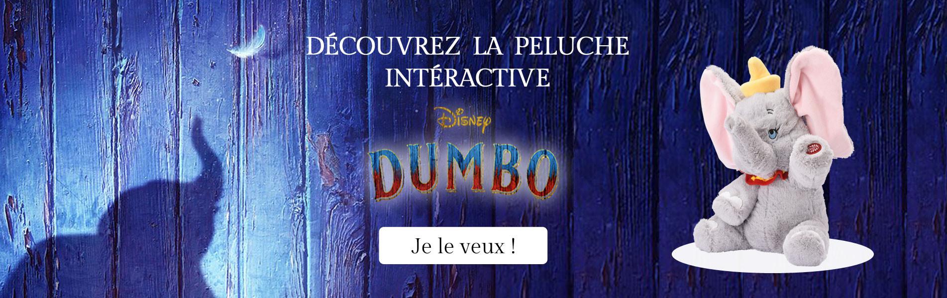 La Peluche interactive Dumbo