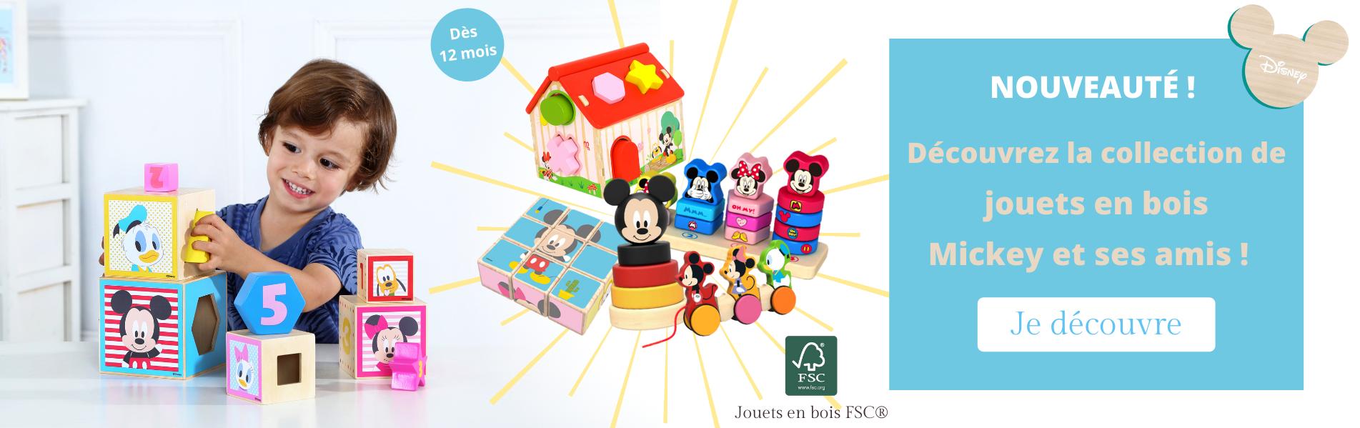 Nouvelle gamme jouets en bois FSC Disney